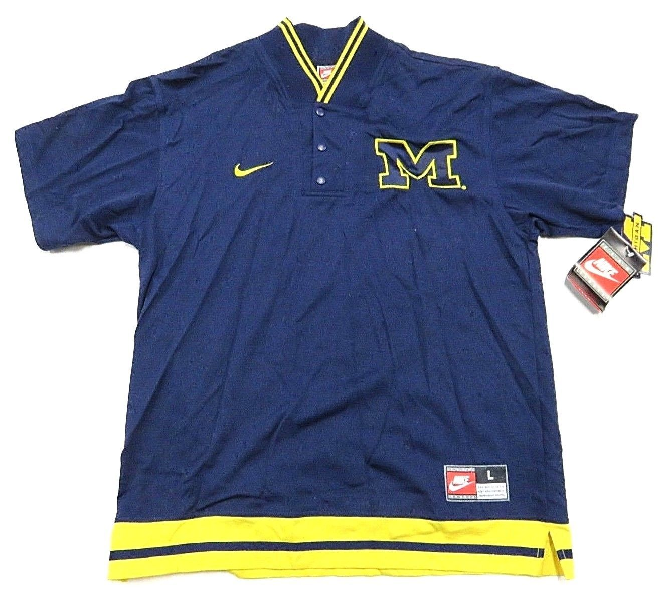 cheaper 2a6aa a015f NWT Michigan Wolverines Men s Blue 1 4 and 50 similar items. S l1600