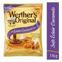 3 Werther's Original Soft Éclair Caramel Candy 116g/4oz Canada FRESH DELICIOUS - $24.01