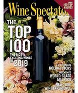 Wine Spectator Magazine December 31, 2019 – January 15, 2020 | Top 100 W... - $9.79