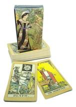 Cartes Tarot L'Original Anglais Rider Waite Pont Brochure & Velvet Poche... - $29.67