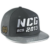 Notre Dame Fighting Irish Nike New Snapback hat 2013 National Championship Game - £14.74 GBP