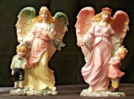 Pair of Angel Figurines in box AA-192051 Vintage - $115.95