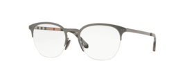 BURBERRY Eyeglass Frames BE1327 1273 53 Gunmetal For Men Women Size 53 - $108.89
