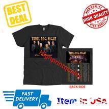 New Shirt Three Dog Night Tour 2019 T-Shirt Men's Black Size S-3XL  - $23.99+