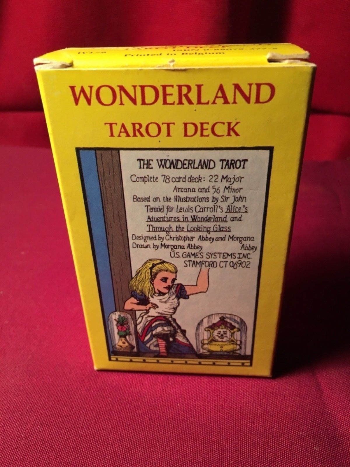 Wonderland Tarot 78 Card Deck New 1st