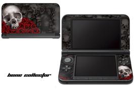 Skin Decal Wrap for Nintendo 3DS XL Gaming Handheld Sticker 12-15 BONES ... - $13.81