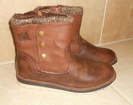 NWT Muk Luks Dark Brown Hope Boot Women Size: 7 - $65.00