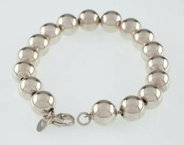 Tiffany & Co.Argento Sterling Braccialetto con Perline Ottimi Condizione... - $197.72