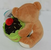 Beverly Hills Brand Playfully Elegant Brown Color Congratulations Cupcake Bear image 3