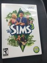 The Sims 3 (Nintendo Wii, 2010) Complete with Manual CIB - $9.65