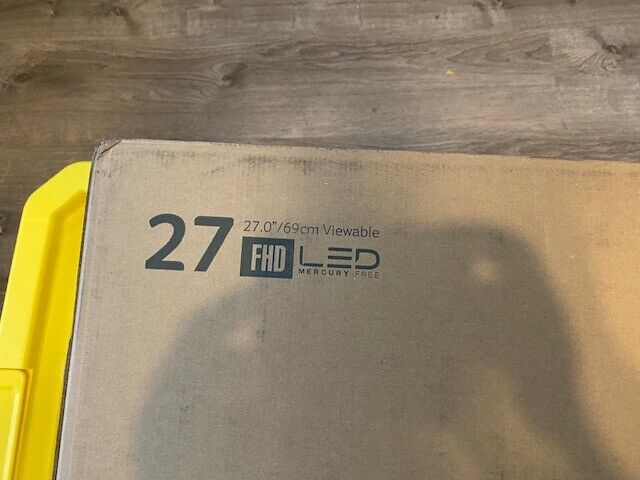 Acer R271 bid 27-inch IPS Full HD 1920 x 1080 Display VGA DVI & HDMI Ports NEW