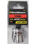 "Gearwrench 80332 3/8"" Drive 6 Point Standard Metric Socket 22mm - $1.98"