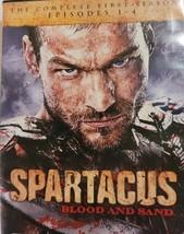 Spartacus Epasodes 1-4 First Season   Dvd image 1