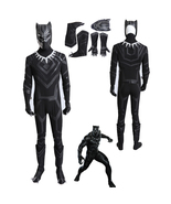 Captain America 3 Civil War Black Panther Cosplay Costume - $75.97+