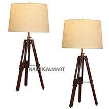 NauticalMart Urban Design Surveyor Tripod Table lamp - Set of 2 - $169.00