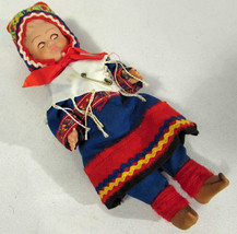 Vintage 1960s Sleep Eye Doll Plastic Body Moveable Arms Legs Vintage Clo... - $9.89