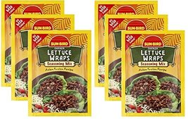 Lettuce Wrap Seasoning Mix Packets - Asian Fusion Recipe for Chicken - 1... - $14.80