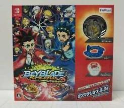 Nintendo Switch Beyblade Burst Battle Zero Japan w/Limited Beyblade FAST... - $138.59