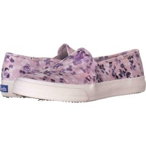 Keds Double Decker Floral Slip On Sneakers 328, Lilac, 7 US - $31.87 CAD