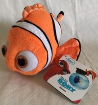 "Disney Store Finding Dory 8"" NEMO Stuffed Plush Clown Fish NWT - $14.84"