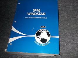 1996 Ford Windstar Van Workshop Service Shop Repair Manual FACTORY OEM - $13.81