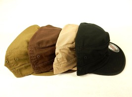 Military Style Cadet Cap, Patrol, Army Hat, Flex Fit ~ Top Gun, Choice o... - $9.95