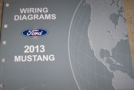 2013 Ford MUSTANG Électrique Diagramme Câblage Diagrammes Dépannage Manu... - $49.45