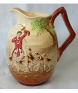 Royal Doulton Pitcher Jug D5595 Fox Hunting Dogs Hounds - $76.12