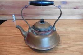 Antique Copper tea pot stove top kettle incense burning pot vintage Mini - $23.17