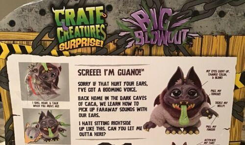 Crate Creatures Surprise Big Blowout - GUANO, Countless Fun Features, 553847