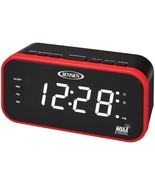JENSEN JEP-150 AM/FM Weather Band Clock Radio with Weather Alert - $38.52