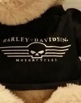 """2008 Plush 13"""" HARLEY DAVIDSON KICKSTAND JR Puppy Dog w/ Logo Tee Tan Fl... - $21.99"""