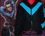 Batman - Nightwing Inspired Hoodie jacket cosplay costume coat handmade dc - $72.00