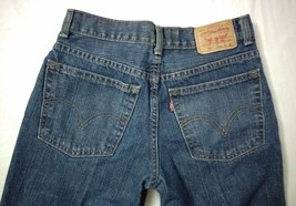 LEVIS 550 RELAXED FIT DENIM BLUE JEANS Womens size 16 reg - $64.35