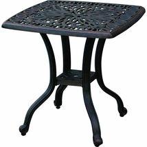 Elisabeth 5pc set patio chaise lounge chairs cast aluminum outdoor furniture image 5