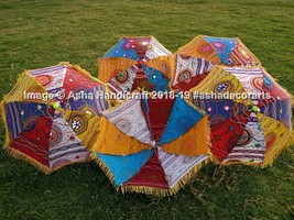 Wholesale Kids Umbrellas Party Dancing Props Handmade Sun Shade 5 Pc Lot... - $31.03