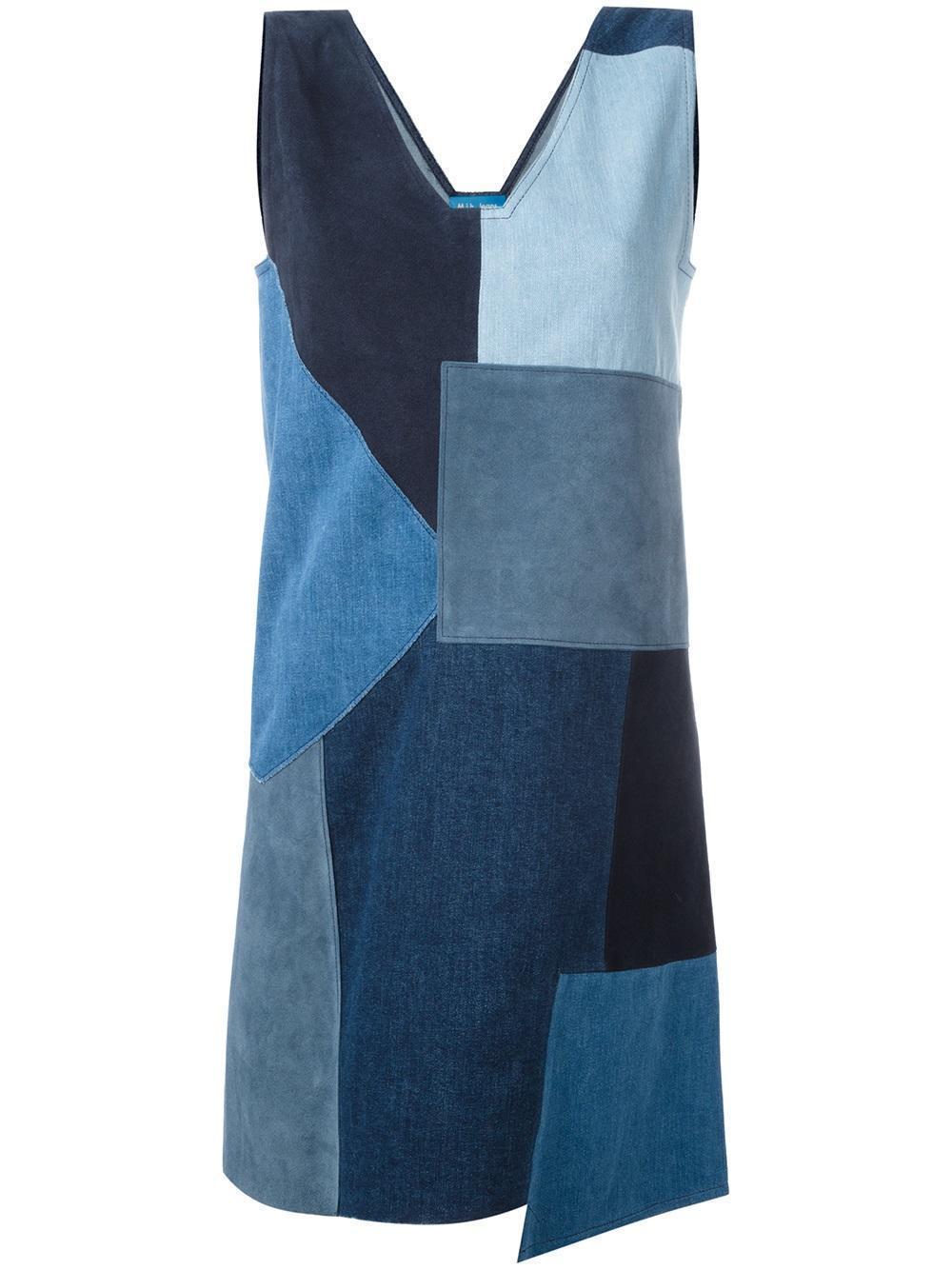 Anthropologie M.i.h Patchwork Marten Dress $545 Sz M - NWT
