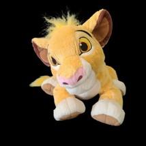 "Disney Store Authentic The Lion King SIMBA cub baby Plush 12""  - $14.36"