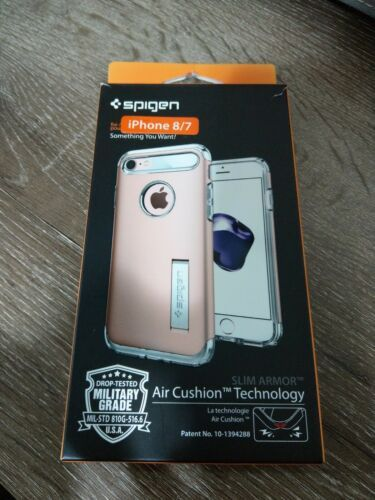 Spigen I Phone 7 And 8 Air Cushion Technology Rose Pink  New In Case Never Used