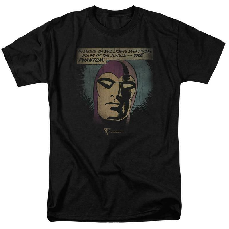 The Phantom t-shirt retro Sunday newspaper comic strip graphic tee KSF135