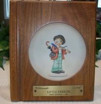 M. I. Hummel Goebel Miniature Collectors Plate 1984 Little Fiddler Frame... - $22.00