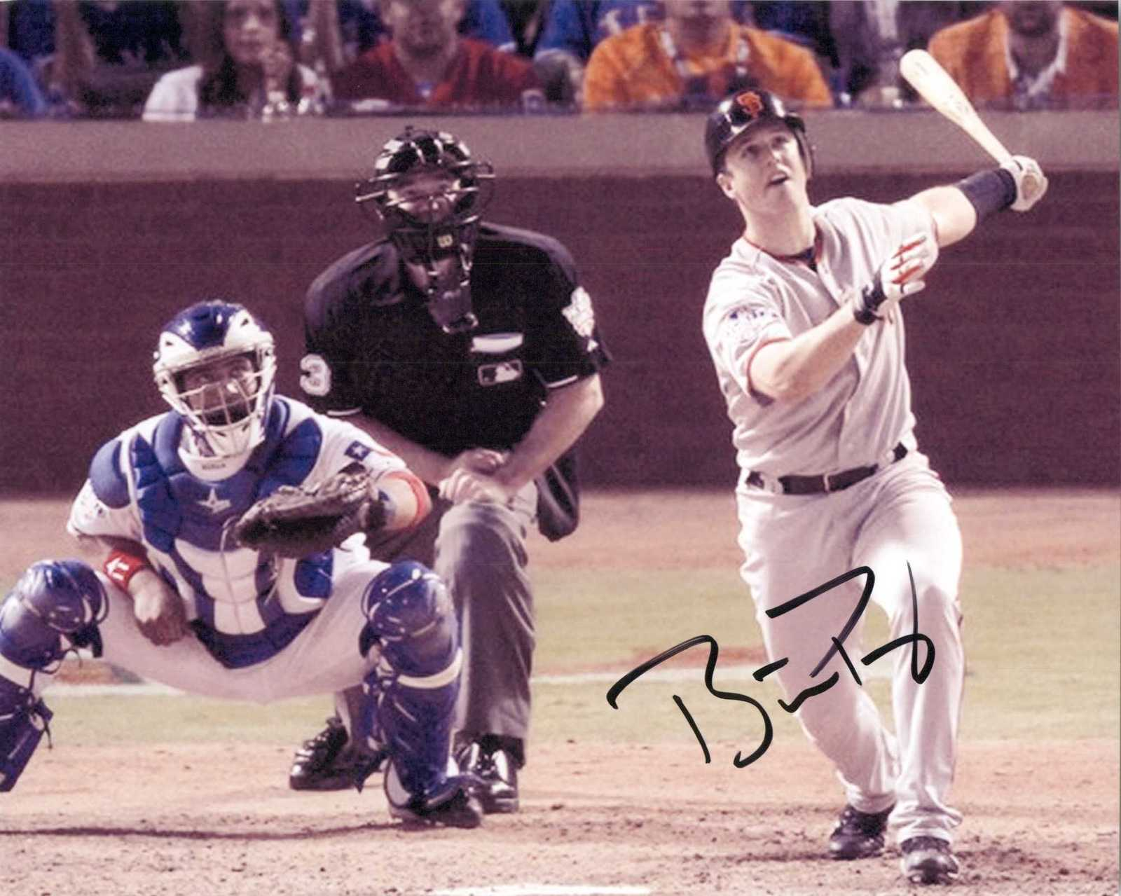 Primary image for Buster Posey Signed Autographed Glossy 8x10 Photo - San Francisco Giants