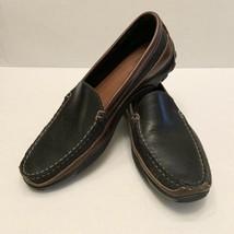 Allen Edmonds Boulder Black Brown Leather Driving Loafers Shoes Men 11.5... - $44.95