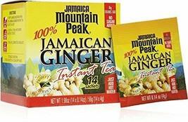 Jamaica Mountain Peak Ginger Instant Unsweetened Tea - 14 sachets - $7.91