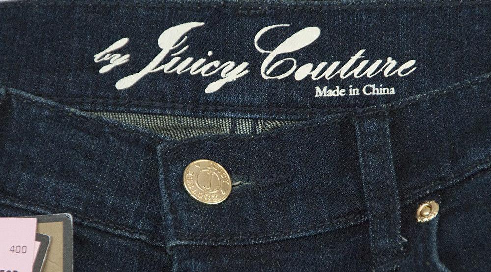 Juicy Couture Black Label Georgiana Stretch Flare Denim Jeans 27 NWT image 3