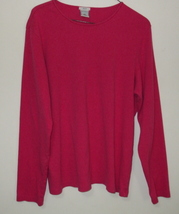 Womens Old Navy Rose Pink Long Sleeve Top Size XL - $5.95