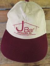 J BAR Construction Inc Adjustable Adult Hat Cap - $8.90