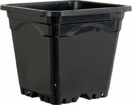 "Hydrofarm HG12X12SB Square Pot (24 Pack), 12 by 12"", Black - $131.50"