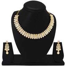 Choker Designer Wear Indian Bollywood Fashion Gold Plated Wedding Party ... - $25.73