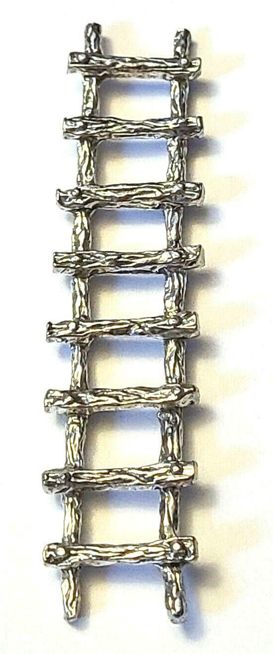 LADDER FINE PEWTER FIGURINE - Approx. 2 1/2 inches Long (T180)
